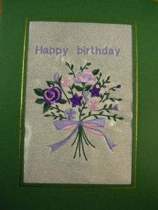 HAPPY BIRTHDAY - Bunch of Flowers - Cards
